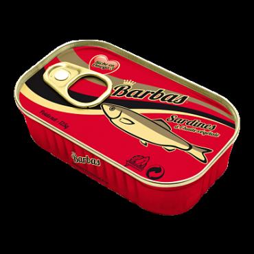 Export conserve sardine Maroc Barbas