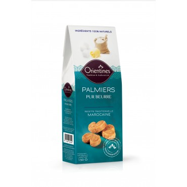 ETUI PALMIERS pur beurre - Maroc Mondial Export biscuit