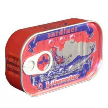 Import conserve sardine Liberator