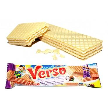 Gaufrettes Maroc export - Import gaufrette Verso Coco