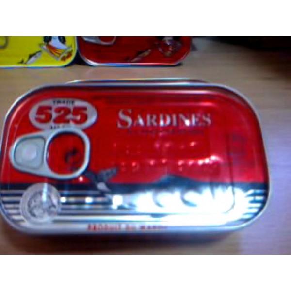 Import conserve sardine- sardine 252