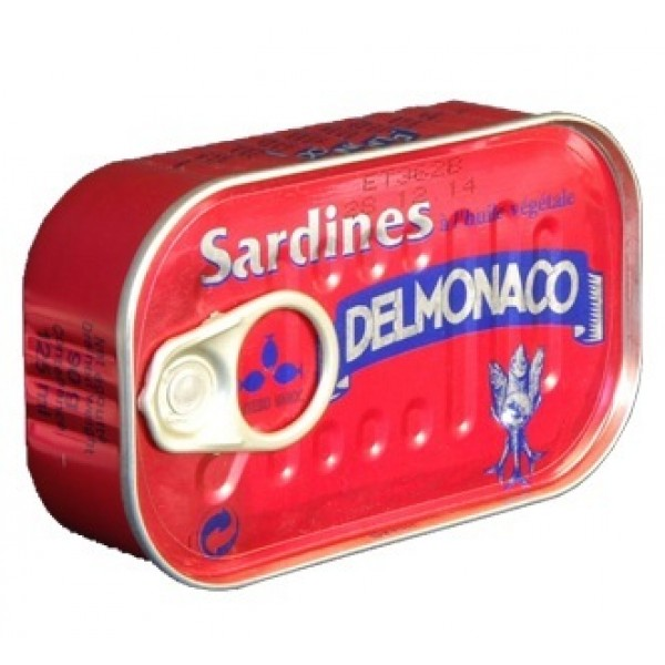 conserve sardine Maroc export conserve Delmonaco