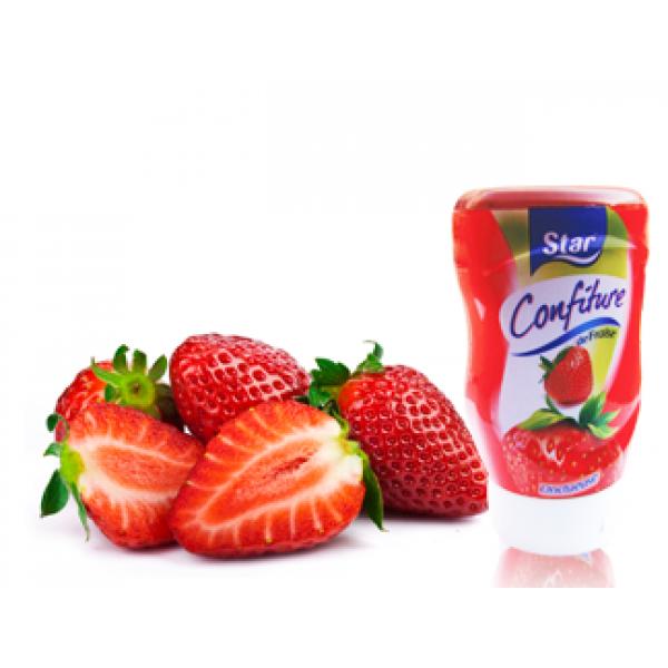 Confiture de fraise STAR