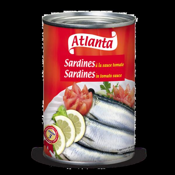 Sardine à la sauce tomate 425G