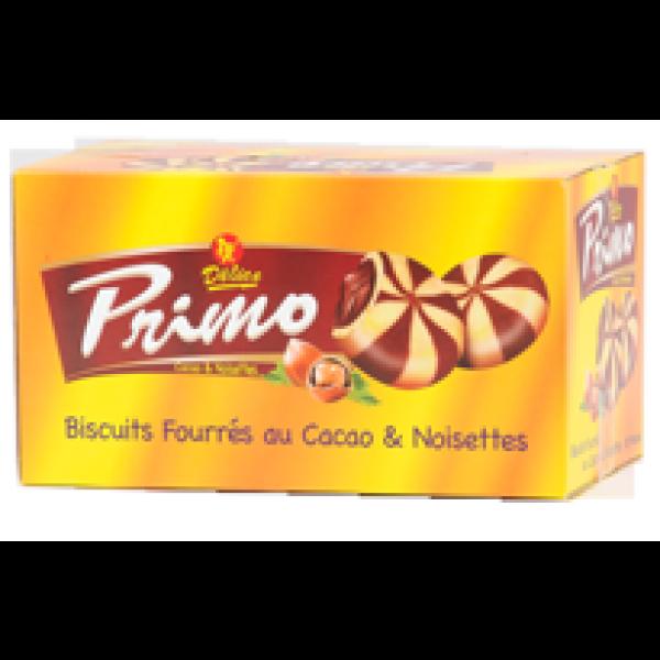 Biscuit Mosaic Fourré. Crème Chocolat Et Noisette.