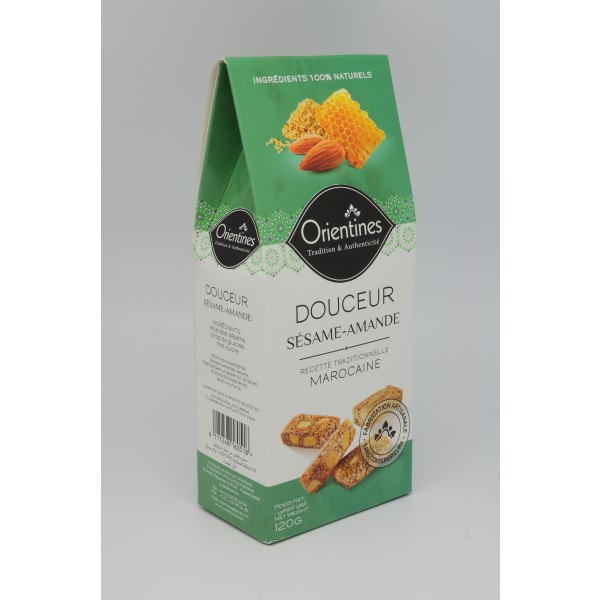 Maroc biscuit - DOUCEUR Sésame  Amande