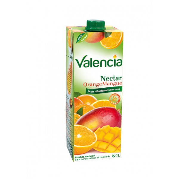 Maroc jus orange mangue valencia