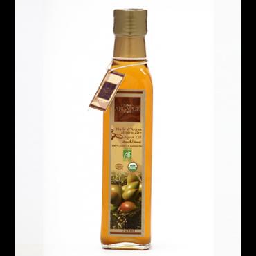 Huile d'argan alimentaire 250ml - maroc mondial export1