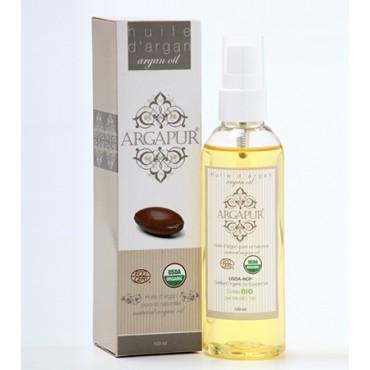 huile d'argan cosmétique 100ml Maroc Export Mondial