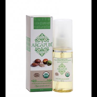 Huile d'argan cosmétique et Huile de cactus 100 % Bio - Maroc Export Mondial