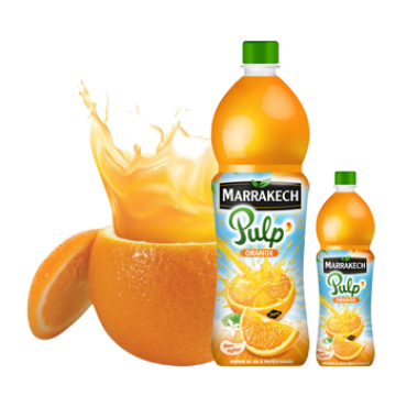 jus  Pulp Orange marrakech