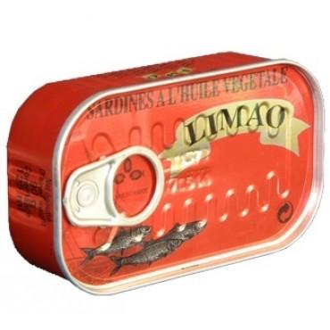 sardine huile végétale boite rouge Limao