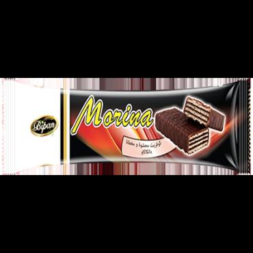 Gaufrette fourrée et enrobée à la créme cacao MORINA
