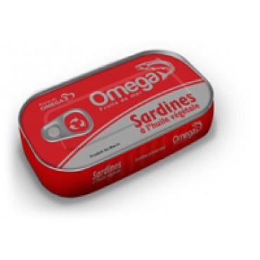 Conserve sardine Omega maroc