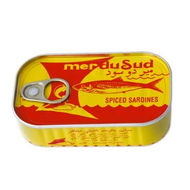 importer sardine -import  Sardines à l'huile vègétale pimentée
